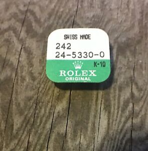 Sealed-vintage-Rolex-watch-steel-crown-tube-24-5330-0-part-5-3mm-Datejust-others