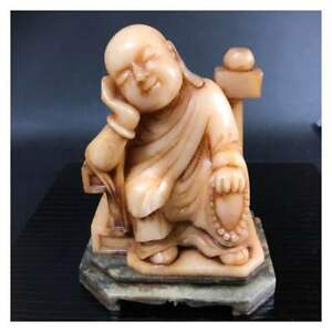 Rare-Item-Chinese-Buddhist-art-China-ancient-marble-Statue-From-JAPAN-F-S