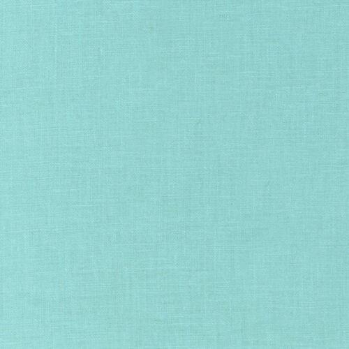 Robert Kaufman Essex Mélange De Lin Aqua-par 1//4 mètre