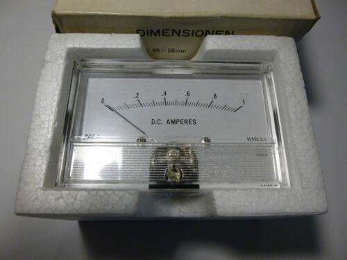 Monacor WV-90 Einbau Instrument Messgerät 90 x 58 mm 1 A Amperemeter