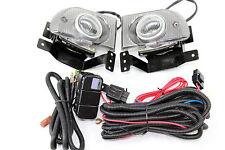92-95 Honda Civic EH 4 Door JDM Clear Fog Light Kit + Harness LX DX EX