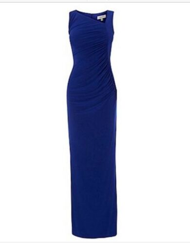 20 Penita Jersey Beautiful coast Asymmetric kobolt størrelse Uk Maxi Dress 6Ex6Iqw7