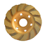 4-034-Concrete-Turbo-Diamond-Grinding-Disc-Wheel-12-Segs-Cup-Masonry-Granite-Stone thumbnail 1