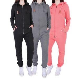 Finchgirl-FG181-Damen-Jumpsuit-Overall-Einteiler-Jogging-Anzug-Trainingsanzug