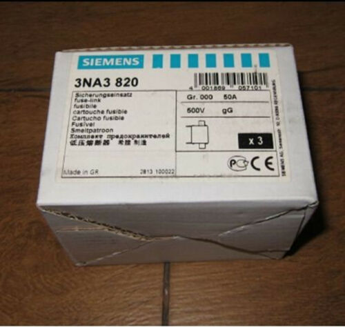 1PCS NEW Siemens fuse 3NA3820