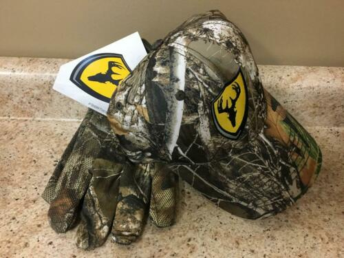 Scent Blocker Hat Gloves Combo SCENTSHIELD Midweight Realtree RT Edge MD//LG