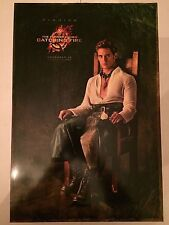 The Hunger Game CATCHING FIRE FINNICK SAM CLAFLIN movie poster 13 1/2 x 20