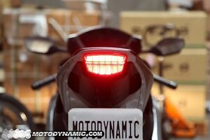 Led Tail Light HONDA 2008-2016 CBR1000RR Integrated Turn Signals Smoke Lens