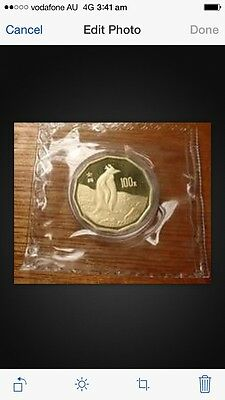 Coins: World Asia Honest 1997 China Penguin 1/2oz Gold Coin