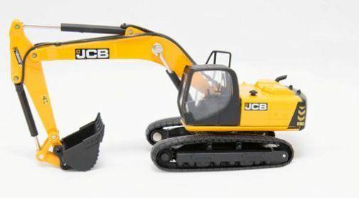 Oxford 76js001 Jcb Js220 à Chenille Excavateur Jaune Noir 1 76 Echelle  00