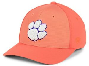 competitive price 9bc6e 4415e Image is loading Clemson-Tigers-NCAA-Mist-Adjustable-Snapback-Cap-Hat-