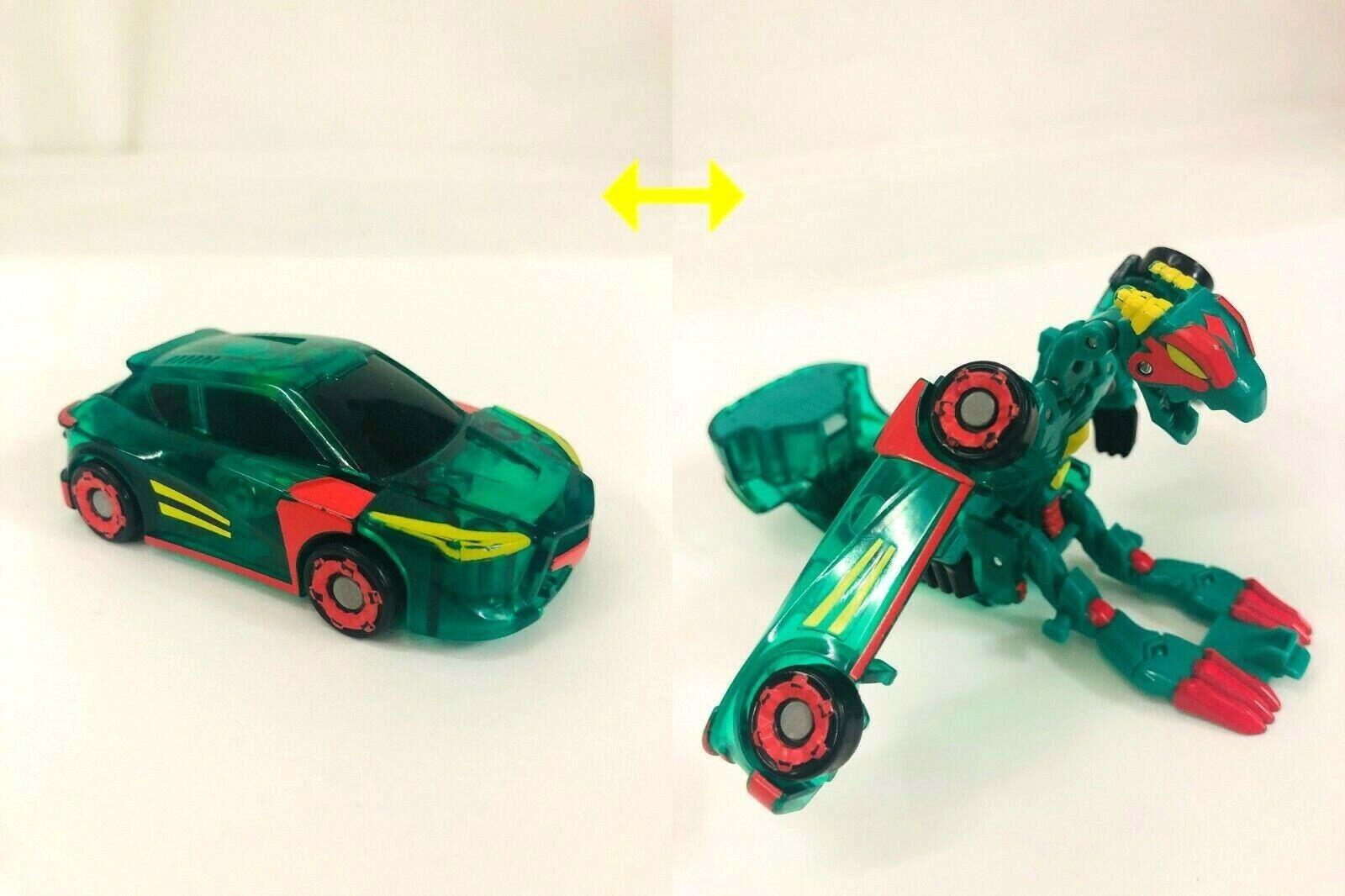 Transforming Robot To Toy Car Mecard Evan Deluxe