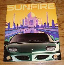 Original 1997 Pontiac Sunfire Sales Brochure 97