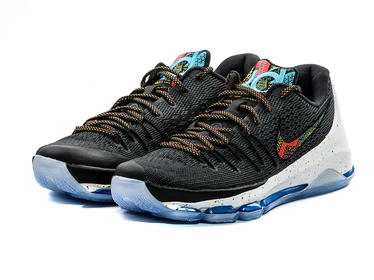 NIKE KD 8 BHM BLACK HISTORY MONTH MEN NEW W O BOX