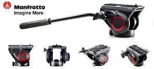 Manfrotto-MVH500AH-Lightweight-Pro-Fluid-Video-Head-Flat-Base-for-Camera
