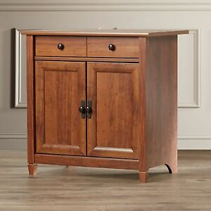 ... Accent-Storage-Cabinet-Chest-Wood-Shaker-2-Door- & Accent Storage Cabinet Chest Wood Shaker 2 Door Cherry Dining Room ...