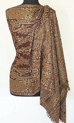 Discover Jamawar.  A Paisley, Wool Shawl from India