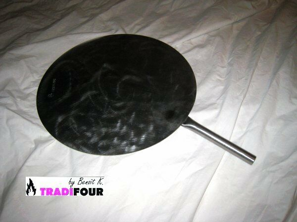 PELLE A PIZZA PRO INOX diamètre 33 cm et longueur totale 50 cm