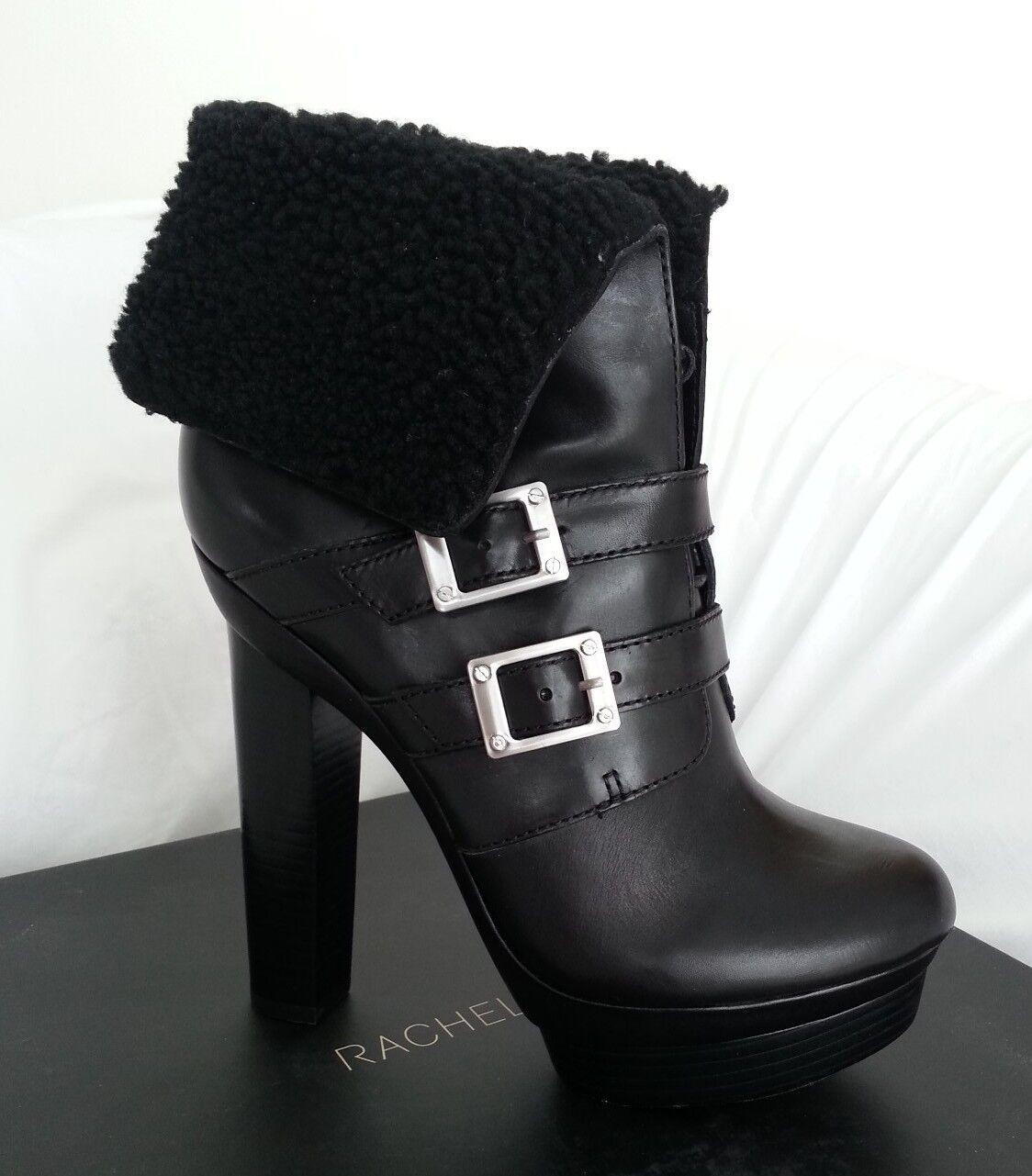 basso prezzo del 40% Rachael Zoe Piper Leather & & & Shearling Lace Up Platform avvio Dimensione 10-NIB-RP  525  autorizzazione