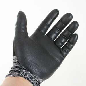 differently cute pretty nice Details about NEW Nitrile Foam Coating Advanced 3M Gloves Work Comfort grip  Electrical wiring