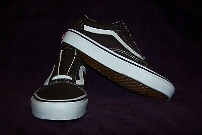 9597a1be5cc90 VANS Old Skool Women's Skate Shoes Chocolate Torte/True White NWOB! AWESOME!