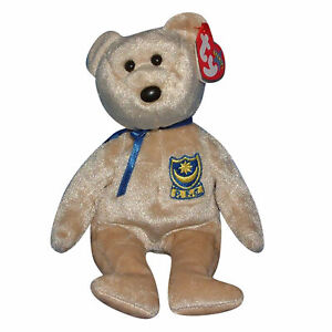 Ty Beanie Baby Premier - MWMT (Bear UK Country Exclusive 2002)