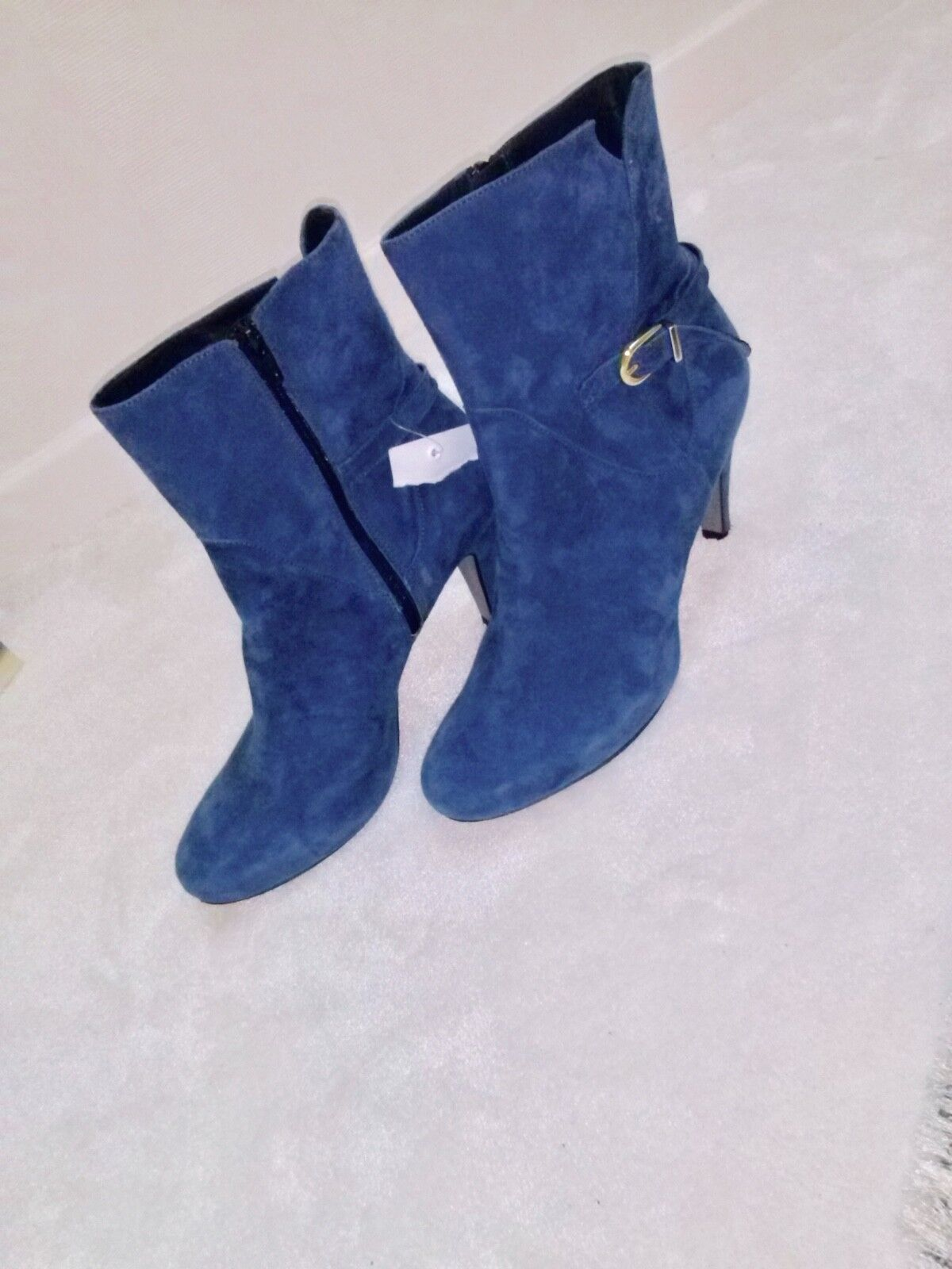 DAMEN MADE STIEFELETTEN -NUBUK RAUH LEDER - GR. 41 MADE DAMEN IN PORTUGAL by BUFFALO LONDON 35b813