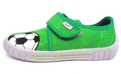 Superfit Hausschuhe grün Größe 27 31 33 34 Fussball Weite M IV