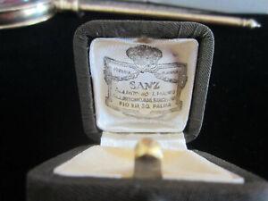 Antique-Vintage-Sanz-Barcelona-Spain-Jewelers-Presentation-Hinged-Ring-Box