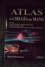 """Atlas de Cirugia de Mano"" Spanish Medical Textbookl"