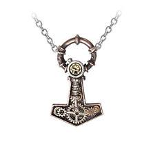GENUINE Alchemy Gothic Steampunk Pendant - Steamhammer | Men's Necklace