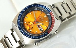 1975 Seiko 6139-6002 Aussie Pogue Automatic Chronograph Watch
