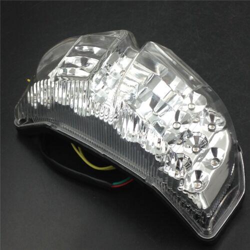LED Tail Light Turn Signals For Yamaha FAZER FZ1 2006 2007 2008 2009 2010 Clear