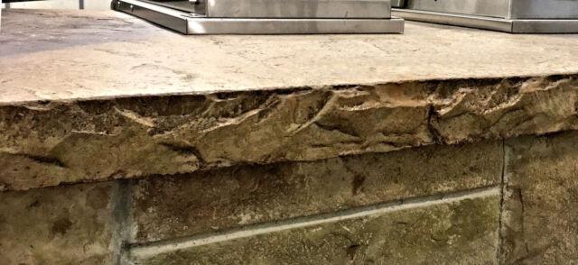 Chiseled Slate Concrete Countertop Edge Form Ebay