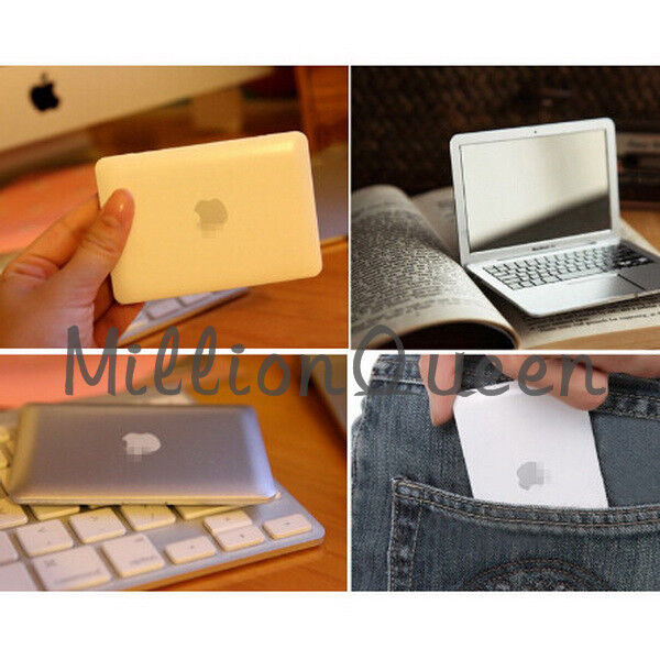 Pocket MacBook Air Laptop Clear Glass Cosmetic Beauty Makeup Mirror Portable