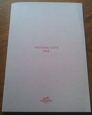 2015 Hermes Vestiaire D'ete Brochure Catalogo Moda Donna Abiti/giacche-mostra Il Titolo Originale E Avere Una Lunga Vita