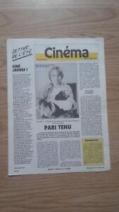 Revista-Semanal-Cinema-Semana-de-La-1erA-21-Julio-1987-N-405-Buen-Estado