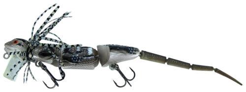 "New Chasebaits Frill Seeker 6.7/"" SkinkMusky//Bass Surface Lure Dragon FS175-01"
