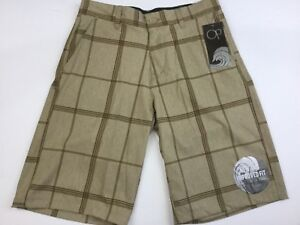f88cfb357d New OCEAN PACIFIC OP Men's Shorts 28 OPFLEX Four Way Stretch Khaki ...