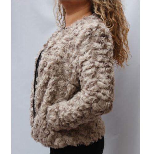 sintetica Giacca cappuccio Posh con in Beige pelliccia Trend Successivo su Fashion Glamour 1qwYPa8P