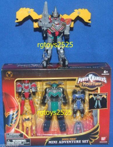 "Power Rangers Mystic Force Mini 7/"" Titan Megazord New Disney Store exclusive 06"
