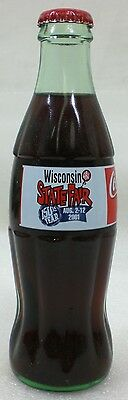 2001 Coca Cola Coke Bottle From The Wisconsin State Fair 150th Year of the Fair
