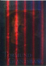 Game Of Thrones Season 3 Foil Parallel Base Card  74 Tormund Giantsbane