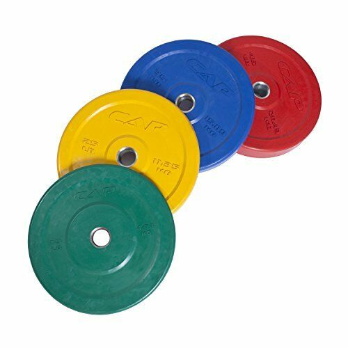 Olympic 2 Inch Yellow Rubber Bumper Plate 25 lbs (Single) BESTSELLER