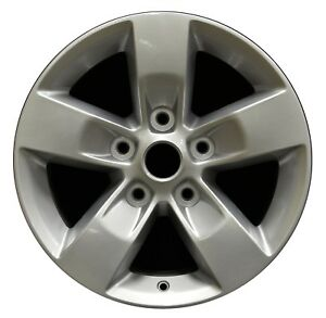 17-034-Dodge-Ram-1500-2013-2014-2015-2016-2017-Factory-OEM-Rim-Wheel-2448-Silver