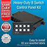 Switch Panel 8 Gang LED Waterproof Caravan Marine Membrane 12 volt Night Light