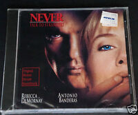 Never Talk To Strangers Soundtrack Banderas Sealed Cd W/aafes Military Sticker