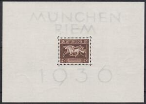 3rd-Reich-Block-4-1936-Mint-Never-Hinged