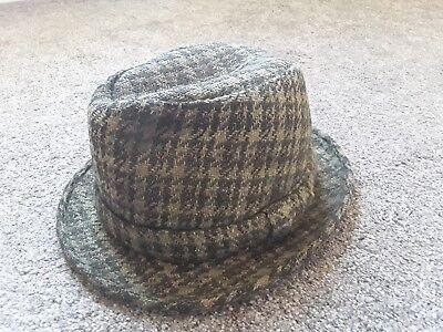 Instancabile Vintage Tress & Co Cappello Di Tweed-mostra Il Titolo Originale Né Troppo Duro Né Troppo Morbido