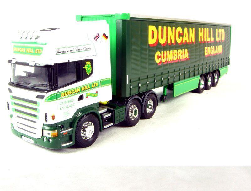 CORGI MODERN Heavy CC13716 Scania curtainside Duncan Hill échelle 1 50